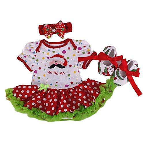 B Barboteuse Robe bandeau Bozevon Nouvel Fantaisie Jupe Jupe Style Chaussures An Gamins Fille Bébé Costume Fête Tutu Vêtement Combinaison Princesse Noël rR6nRIaBf