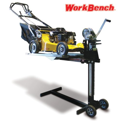 MoJack Workbench - Quickly Convert Your Mower Lift into a Worktable for Push Mowers or Other Small Projects, Compatible EZ, XT & PRO, 200lb Lifting Capacity
