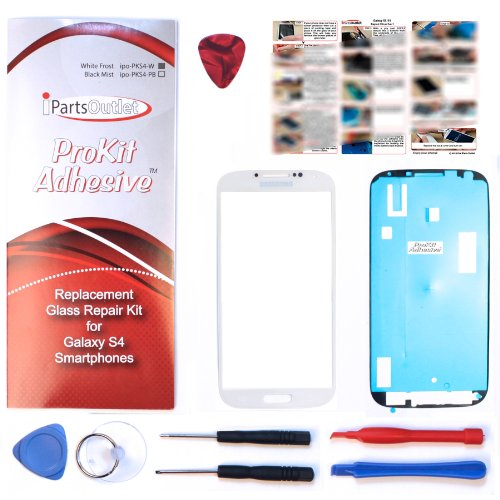 ProKit Adhesives for Samsung Galaxy S4 White Frost Replacement Screen Glass Lens repair Kit S4 IV i9500 s4 Prokit Adhesive