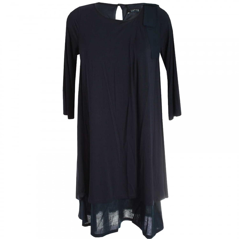 Latte 3/4 Sleeve Jersey Dress