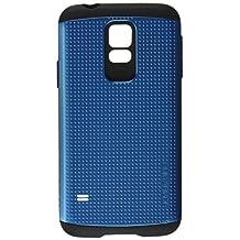 Galaxy S5 Case, Spigen [AIR CUSHION] Slim Armor Case for Samsung Galaxy S5 - Retail Packaging - Electric Blue (SGP10753)