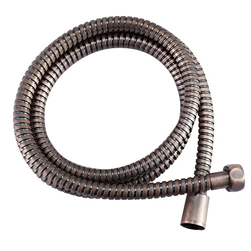 Dura Faucet (DF-SA200-ORB) Stainless Steel RV Shower Hose Replacement (60-Inch) for Recreational Vehicles, Motorhomes, Travel Trailers, 5th Wheels, and Campers (Oil Rubbed Bronze)