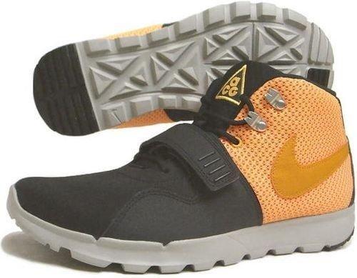 Nike Trainerendor Mid Blk/cnyn Gld Lsr Ormg 616578 078 Size 8.5