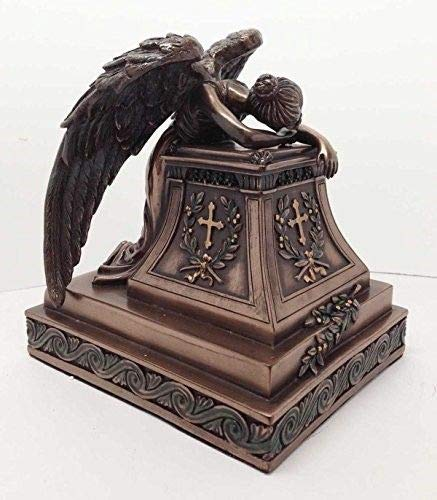 ShopForAllYou Figurines and Statues Mourning Angel of Grief Desktop Statue Rome William Wetmore Inspired Sculpture