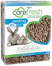 carefresh® Natural Nesting Small pet Bedding, 60L (Pack May Vary)