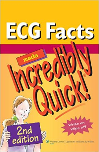 Book ECG Facts Made Incredibly Quick! (Incredibly Easy! Series) (Incredibly Easy! Series (R))