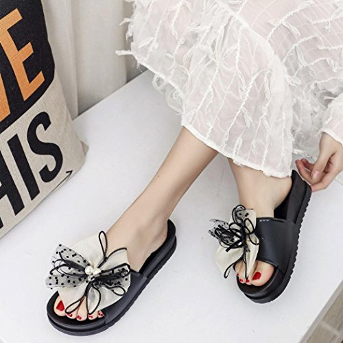 Lolittas Bling Jewelled Rhinestone Leather Slipper Sandals Pantshoes for Women Ladies,Summer Beach Glitter Diamante Flat Open Toe Wide Fit Cushioned Outdoor Size 3-8 Beige