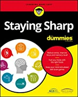 Staying Sharp For Dummies Front Cover