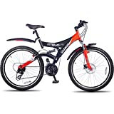 Hero Octane 26T DTB PLUS 21 Speed Junior Cycle  19-inches (Black & Red)
