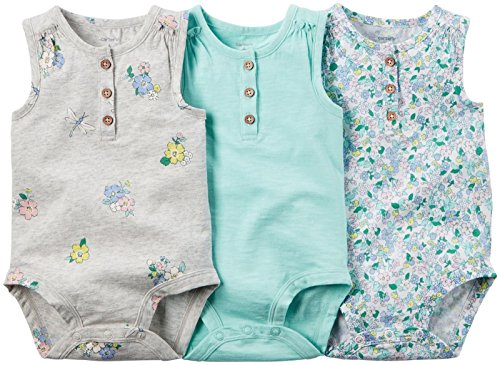 Carter's Baby Girl Collection Multi Bs Floral Mint, Assorted, 24 Months