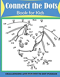 Dot to Dots Numbers: Dot to dot Count to 100 Activity Book