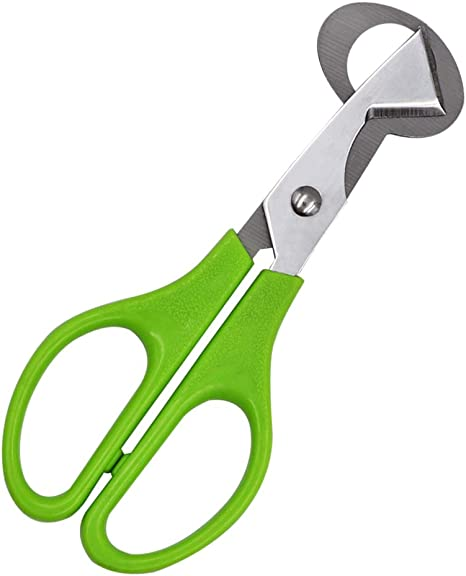 Novel Quail Egg Scissors Stainless Steel Shell Splitter Remover Shell Cutter