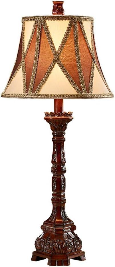 Lámparas de mesa- de Resina, iluminación Interior Antigua Lámpara ...