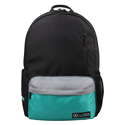 Mercedes AMG Petronas Back-to-School Backpack (Black/Grey) by Mercedes AMG Petronas