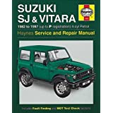 Suzuki SJ Series, Vitara, Service and Repair Manual (Haynes Service and Repair Manuals)