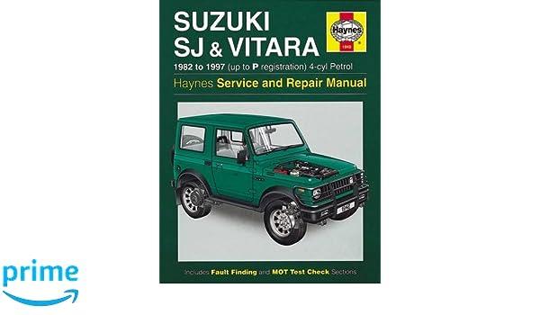 Suzuki Sj Series, Vitara: Amazon.es: Haynes Publishing: Libros en idiomas extranjeros