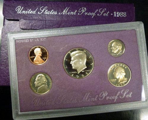 1988 U.S. Mint Proof Set Original Mint - Mint 1988