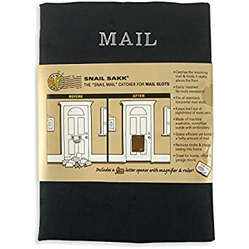 The Original Mail Catcher Bag Sack Front Garage Door
