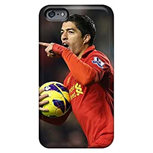 Fashion cell phone carrying skins Protective Cases Popular iphone 5 5s case 6p - the best forward of liverpool luis suarez