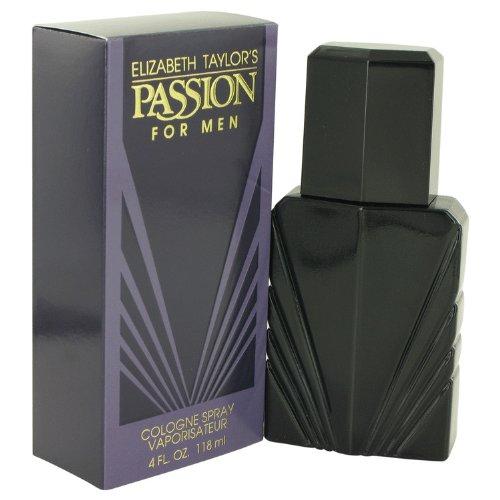 PASSION by Elizabeth Taylor Men's Cologne Spray 4 oz - 100% - Mens Cologne Passion
