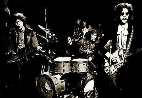 Cream Poster, Live in Concert, Jack Bruce, Eric Clapton, Ginger Baker