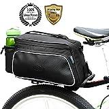 top peak bike stand - MeanhooBicycle Saddl Seatpost Bag Fashion Fixed Gear Pannier Saddle Rear Rack Seat Bag - Black Practical New