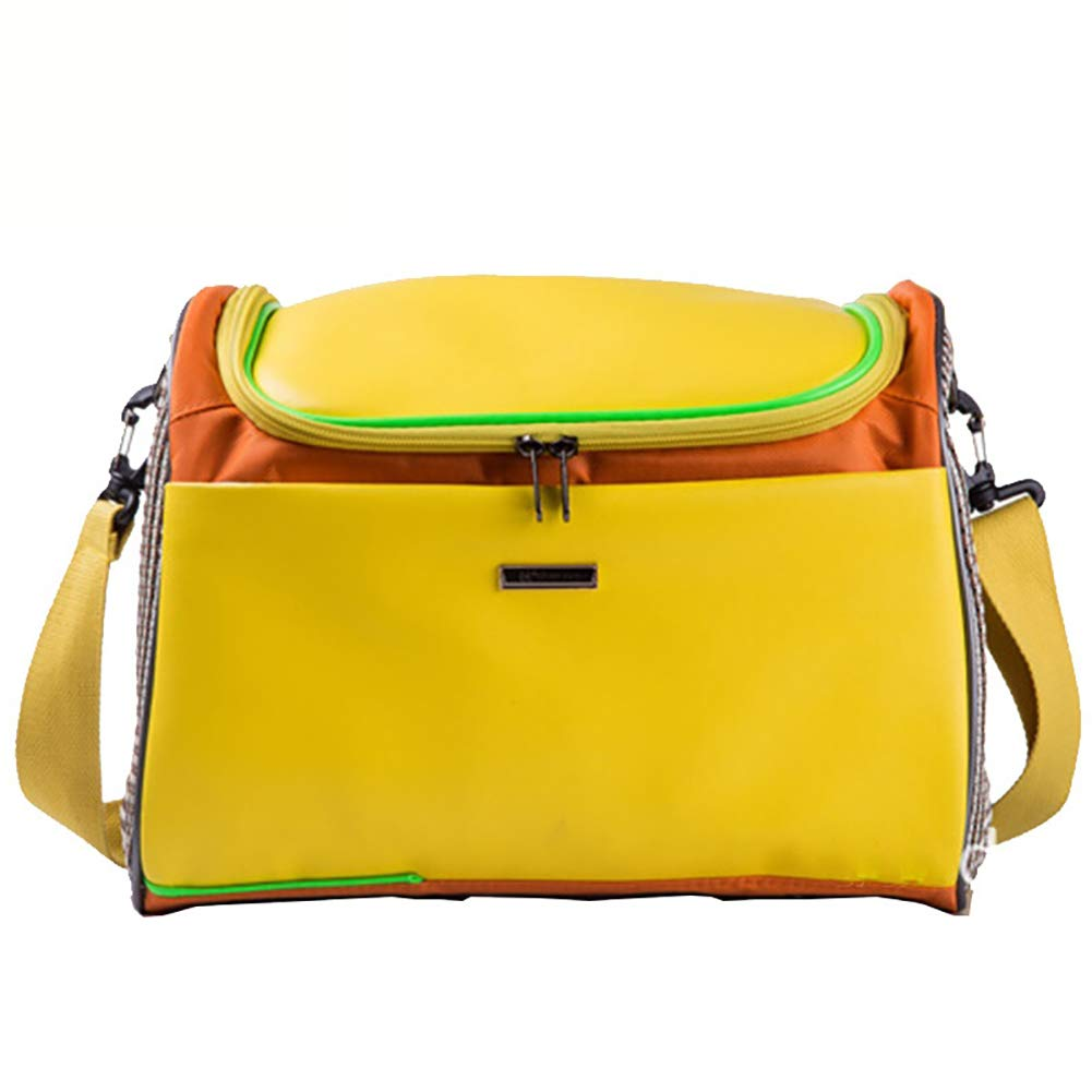 Yellow M(342026cm) yellow M(342026cm) Pet Cat Dog Backpack Out Carrying Bag Outdoor Travel Mountaineering Billiard Shoulder Trip Bag Cat Cage Outing Supplies (34  20  26cm) (40  22  29cm)