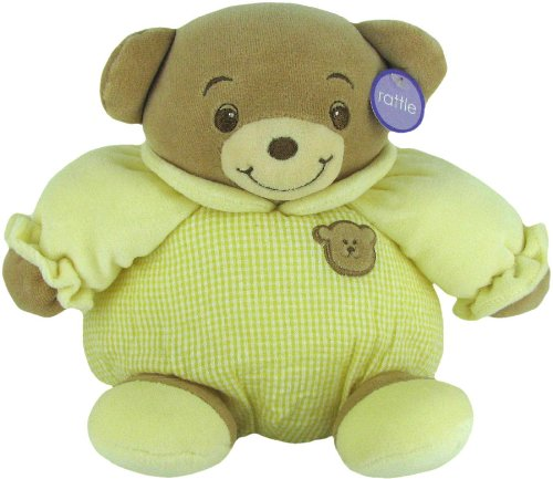 (Baby Bow Playtime Bear Yellow 11