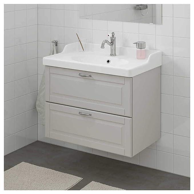Amazon com: GODMORGON RATTVIKEN Wash-Stand with 2 Drawers
