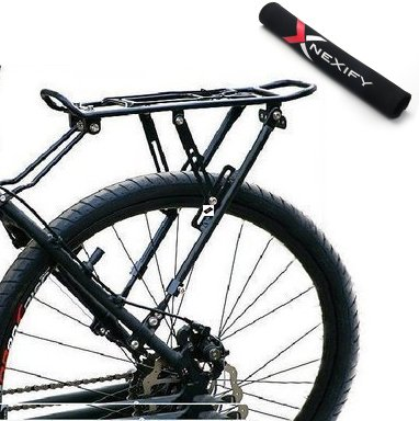 Amazon.com: Nexify Bicicleta Equipaje rack (Rear) – Mantiene ...