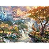 Ceaco Thomas Kinkade The Disney Dreams Collection Bambi Jigsaw Puzzle