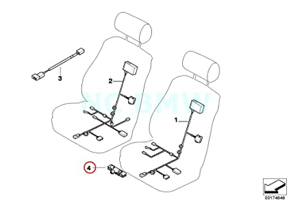 Amazon Com Bmw Genuine Cable Holder Automotive