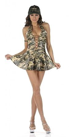 Sexy army dress