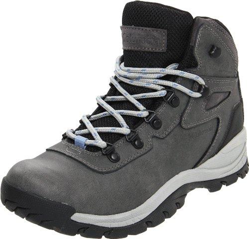 Columbia Women's Newton Ridge Plus Hiking Boot, Quarry/Cool Wave, 8.5 M US