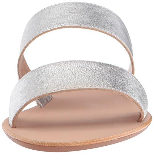 Flat Clem Randall Silver Sandal Loeffler Women's FZ4qa