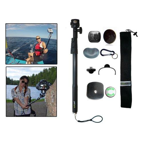(QuikPod EXPLORER DSLR POV Quik Pod Digital Camera Monopod Tripod Adapter Travel )