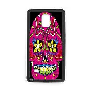 C-Y-F-CASE DIY Color Skull Pattern Phone Case For samsung galaxy note 4
