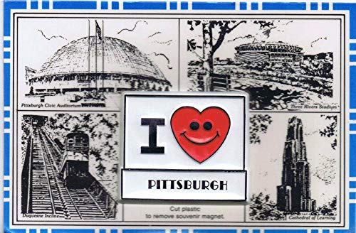 - Pittsburgh Civic Arena Three Rivers Stadium Incline Vintage Magnet Postcard