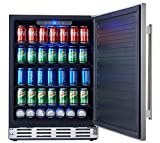 Kalamera 24' Stainless Steel Beverage Cooler - Soda and Beer Refrigerator - Drinks Fridge for Home and Commercial Use ...