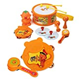 Farting King Pung Pung Family Band / Musical Instrument Playing Toys for Kids / Instrument Play Set Band Drum
