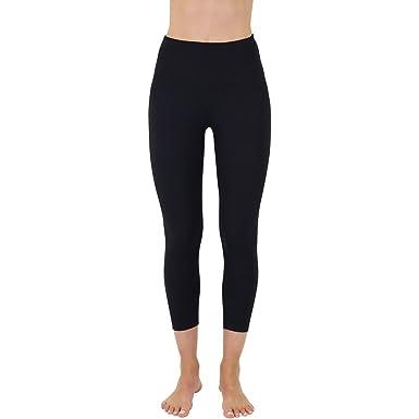 9ed29c4bd4c20 Yogalicious High Waist Ultra Soft Lightweight Capris - High Rise Yoga Pants
