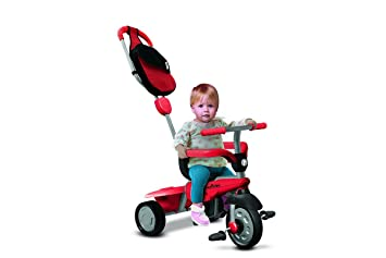 a66d16c173a New Red Smart Trike Breeze 3-In-1 Child Tricycle Baby Ride-On Stroller  6160500 by Giochi Preziosi, Figures - Amazon Canada
