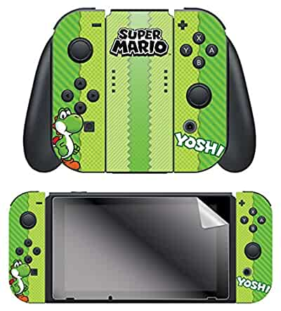 Amazon.com: Controller Gear Nintendo Switch Skin & Screen