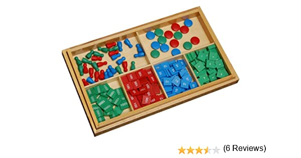 Amazon.com: Montessori Stamp Game with Problem Paper - Kid Advance ...
