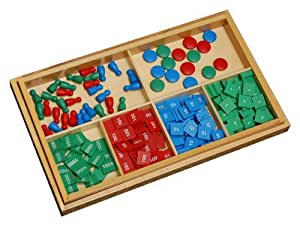 Montessori Stamp Game with Problem Paper - Kid Advance