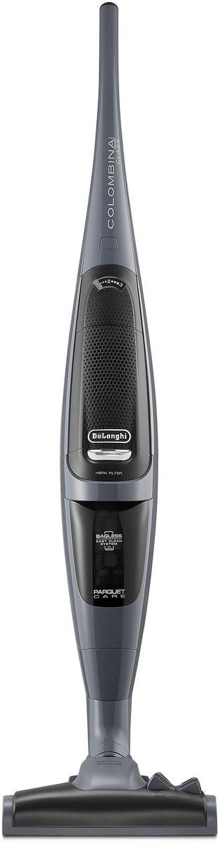 DeLonghi XL165.41 aspiradora de pie y escoba eléctrica Sin bolsa Gris 1,3 L 450 W - Aspiradora escoba (Sin bolsa, Gris, 1,3 L, Secar, HEPA, Filtrado): Amazon.es: Hogar