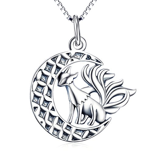 Angel caller Sterling Pendant Necklace product image