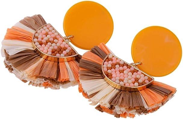 Élégant femme Cristal Tassel Fleur Coeur Perle Dangle Boucles d/'oreilles Clou Bijoux Hot