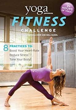 Yoga Journal: Fitness Challenge 3 DVD Set by Alexandria Crow
