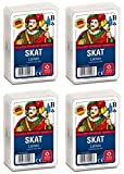 ASS Altenburger 22570006 Linen Embossing French Picture Skat Playing Cards 59 x 91 mm Multi-Coloured
